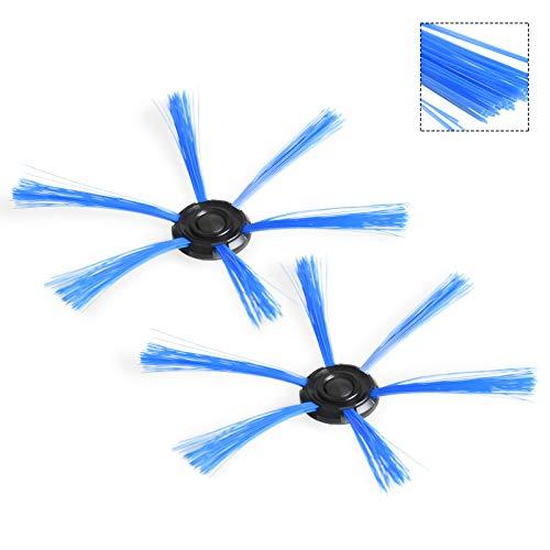 YTT Filtro HEPA * 2 + Cepillo lateral * 2 Filtros de repuesto para ...