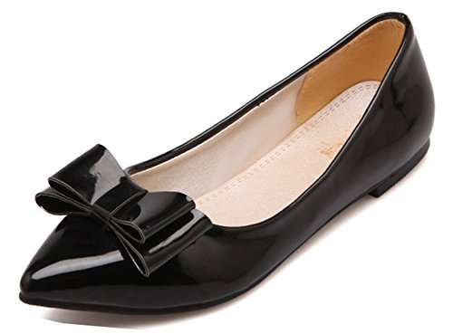 Noeud Chic Coupe Pointue on Aisun Femme Ballerines Slip qvgSFqEw