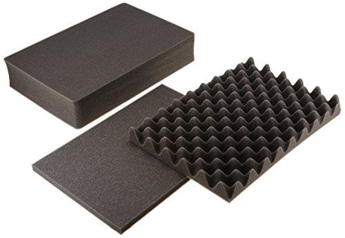 Foam For Cases (Pelican 1501 Replacement 3 Pc Pick N Pluck Foam Set for 1500 Case)