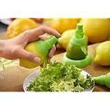 king's store 2 Pc Citrus Lemon Sprayer Set the Freshest Mist for Your Foods (green)