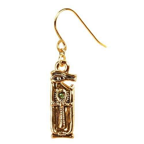 YTC Wedjat Ankh Earrings