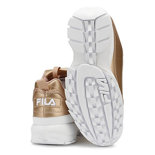 Fila Disruptor Ii Premium Womens Sneakers White