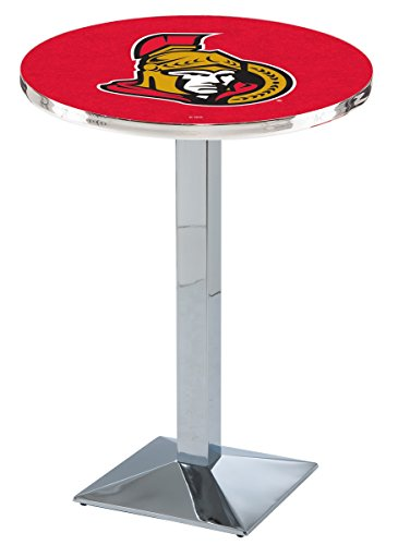 Holland Bar Stool L217 NHL Ottawa Senators Officially Licensed Pub Table, 28