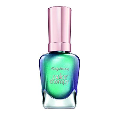 Sally Hansen Color Therapy Nail Polish, Reflection Pool, 0.5 Fluid Ounce
