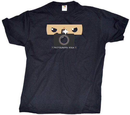 PHOTOGRAPHY NINJA Funny, Cute Photographer T-shirt Adult Unisex T-shirt/photography ninja shirt
