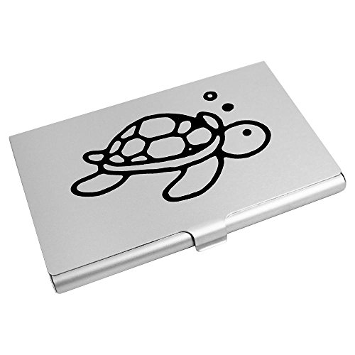 Wallet Card Credit Card CH00013814 Turtle' Business 'Swimming Azeeda Holder qxOPgTw