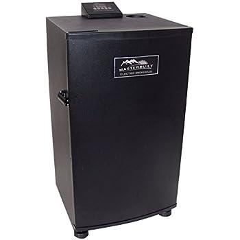 Masterbuilt 20070910 30-Inch Black Electric Digital Smoker, Top Controller