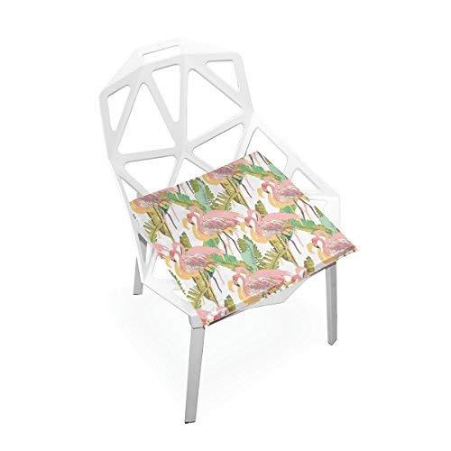 Amazon.com: Plao almohadilla de asiento de cojín Flamingo ...