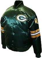 NFL Men's Green Bay Packers Prime Satin Jacket