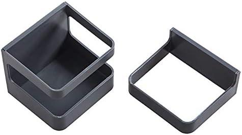 Q-Y-J 壁掛け傘立てホーム壁無料パンチ傘収納ラック多機能排水ラック (Color : Gray black)