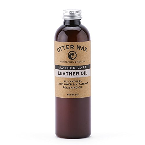 Otter Wax Leather Oil | 5oz | All-Natural Universal Polish & Conditioner | Made in USA ()