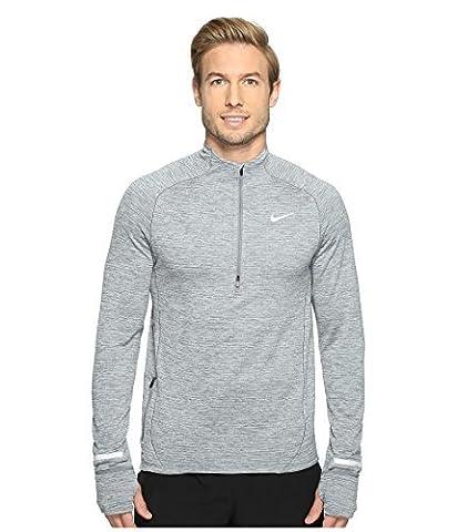 Nike Men's Sphere Element Running Top, Grey (Small, Grey) (Nike 5 0 Men Green)