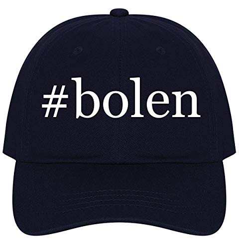 The Town Butler #Bolen - A Nice Comfortable Adjustable Hashtag Dad Hat Cap, Navy from The Town Butler