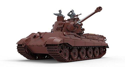 Tigers Mint Condition - Meng TS-031 King Tiger Sd.Kfz.182 Henschel Turret Plastic Model Kit
