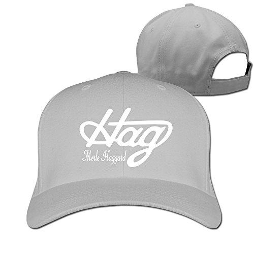 Unisex Country Music Legend Haggard Hag Baseball Cap Ash