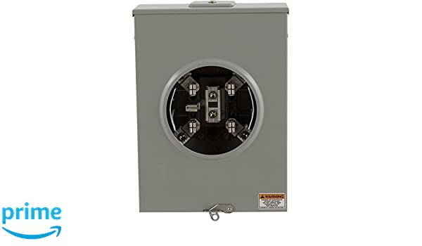 Square D by Schneider Electric UGHTRS213C 200A Ringless Horn Overhead//Underground Meter Socket With Horn Bypass