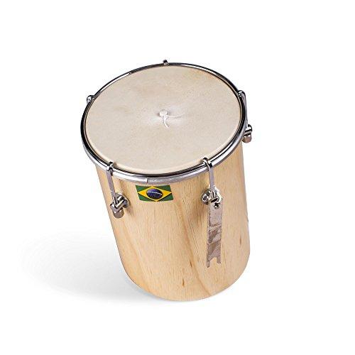 Afro - piel brasileño de 20 cm Kuï ikikica Cuica Natural de madera Fricción Tambor Samba Instrumento Musical