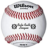 Wilson A1082 Babe Ruth League Tournament Series Baseball (12-Pack), White