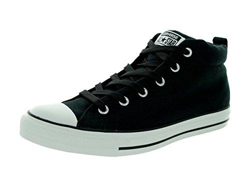 Converse Street Men's Top Sneaker Noir Canvas Mid Px6wqU5Pr
