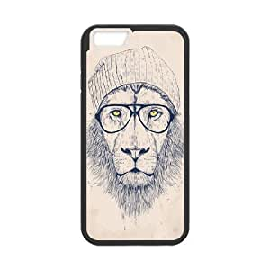 """Customized Durable Case for Iphone6 Plus 5.5"""", Hipster Lion Phone Case - HL-R689063"""