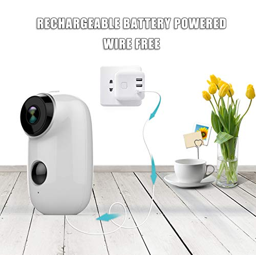 Rechargeable cameras for home security
