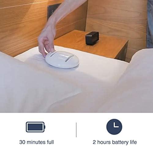 BSWL Portable Smart Bacteria Killing Robot Anti Dust Mite Auto CleanseBot UV Vacuum