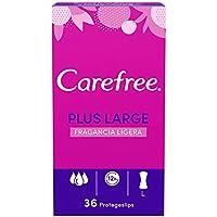 Carefree Salvaslip Plus Large Fragancia Ligera 36 unidades