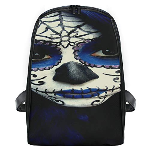 Guy Sugar Skull Makeup School Backpack For Boys Kids Preschool School Bag Toddler Bookbag]()