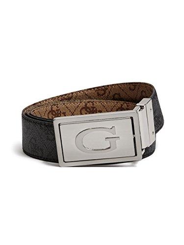 Guess Buckle Closure Belt - GUESS Men's Quattro G 4-In-1 Reversible Belt