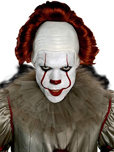 SUIT YOURSELF It Pennywise Makeup Supplies for Adults, Include Cream Makeup, Eye Shadow, Lipstick, a Sponge, and More