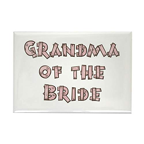 CafePress Country Grandma Of The Bride Rectangle Magnet, 2