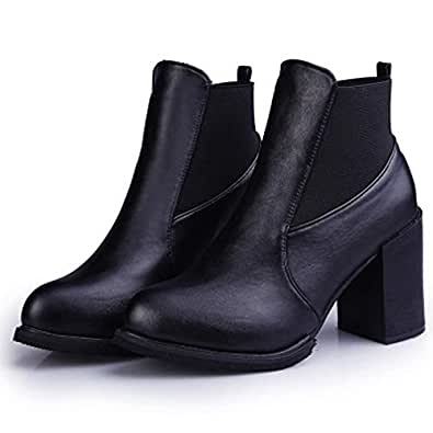 Amazon.com | Friedman Women Boots Martin Boots Fashion