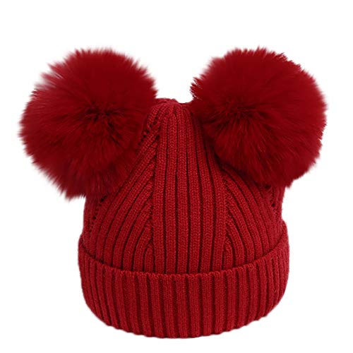 Gbell Toddler Infant Winter Pompom Ball Hat Knitted,Venonat
