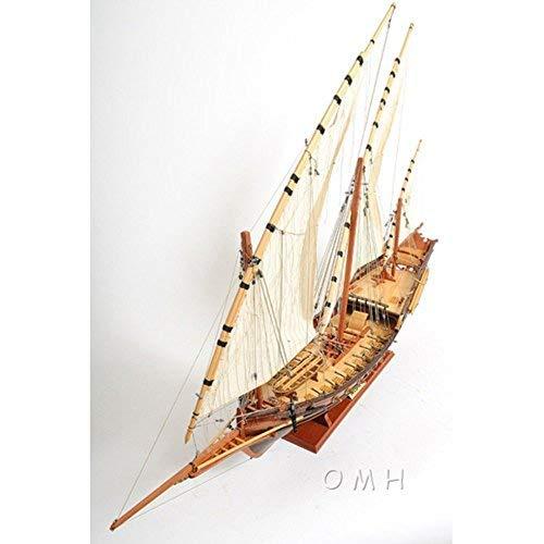 Old Modern Handicrafts Handicrafts Xebec Collectible