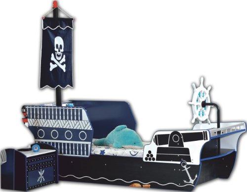 Kinderbett piratenschiff  PIRATENBETT Piratenschiff Kinderbett Seeräuber Bett Jugendbett ...