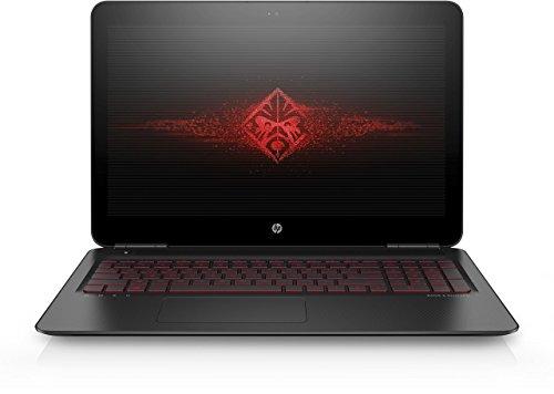 OMEN by HP (15-ax005ng) 39,6 cm (15,6 Zoll / FHD IPS UWVA) Gaming Notebook (Intel Core i7-6700HQ), 8 GB RAM, 1 TB HDD, 128 GB SSD, NVIDIA GeForce GTX 960M, Windows 10) schwarz