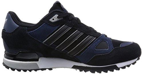 adidas Originals ZX 750 Unisex-Erwachsene Sneakers Schwarz (core black/core black/collegiate navy)