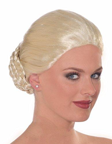 Forum Novelties Women's Spanish Dancer Wig, Blonde, One Size (Adult Spanish Dancer Costume)
