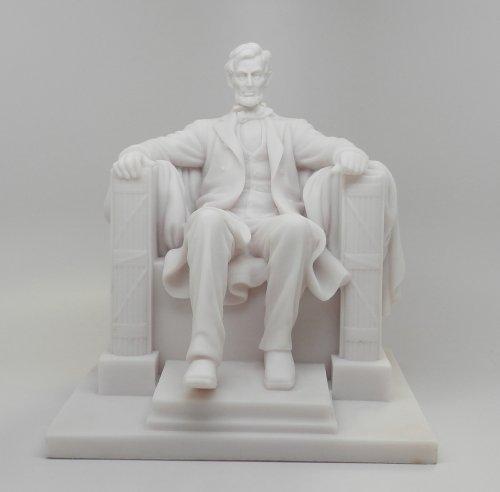 8 25 Inch Abraham Lincoln National Memorial Replica Figurine