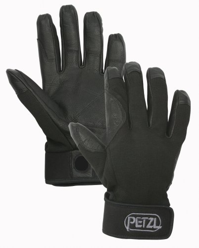 Petzl K52 CORDEX Lightweight Glove, Black, Large