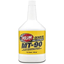 Red Line (50304) MT-90 75W-90 GL-4 Manual Transmission and Transaxle Lubricant - 1 Quart