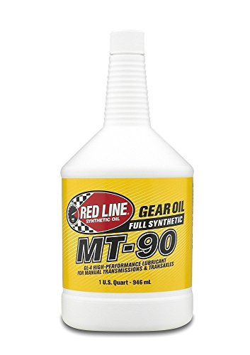 Red Line (50304) MT-90 75W-90 GL-4 Manual Transmission and Transaxle Lubricant - 1 Quart (Manual Transmission Gear)