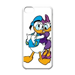 iPhone 5C Phone Case White Daisy Duck UYUI6807786