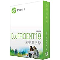 HP Printer Paper | 8.5 x 11 Paper | EcoFFICIENT 18 lb | 1 Ream - 500 Sheets | 92 Bright | Made in USA - FSC Certified…