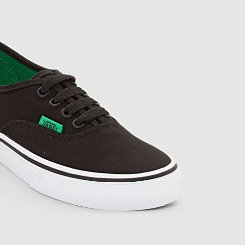 Vans Authentic - Zapatillas Unisex Niños Negro (sport Pop/black/kelly Green)