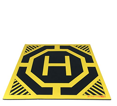 Ultra-Sleek-and-Stylish-RC-Remote-Control-Helicopter-Drone-Landing-Pad-Helipad-12-inch-by-12-inch