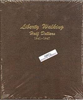 Liberty Standing Half Dollar 1916-1947 Dansco All-In-One Coin Folder