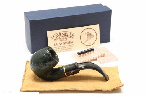 Savinelli Alligator Green 614V Tobacco Pipe