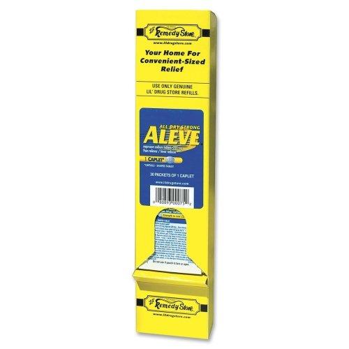 Lil' Drug Store Aleve Medicine - Fever, Arthritis, Headache, Toothache, Muscular Pain, Backache, Common Cold, Menstrual Cramp - 30 / Box
