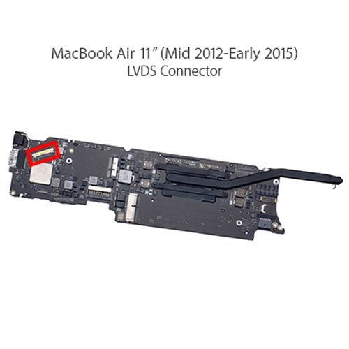LCD-Display-LVDS-Cable-Connector-30-PIN-Apple-MacBook-AirPro-Retina-2012-2015-Pro-Unibody-13-2012-iMac-215-2012-2013